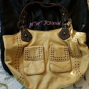 Betsey Johnson real soft leather purse!
